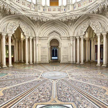 Eastern architecture, palaces and mosques