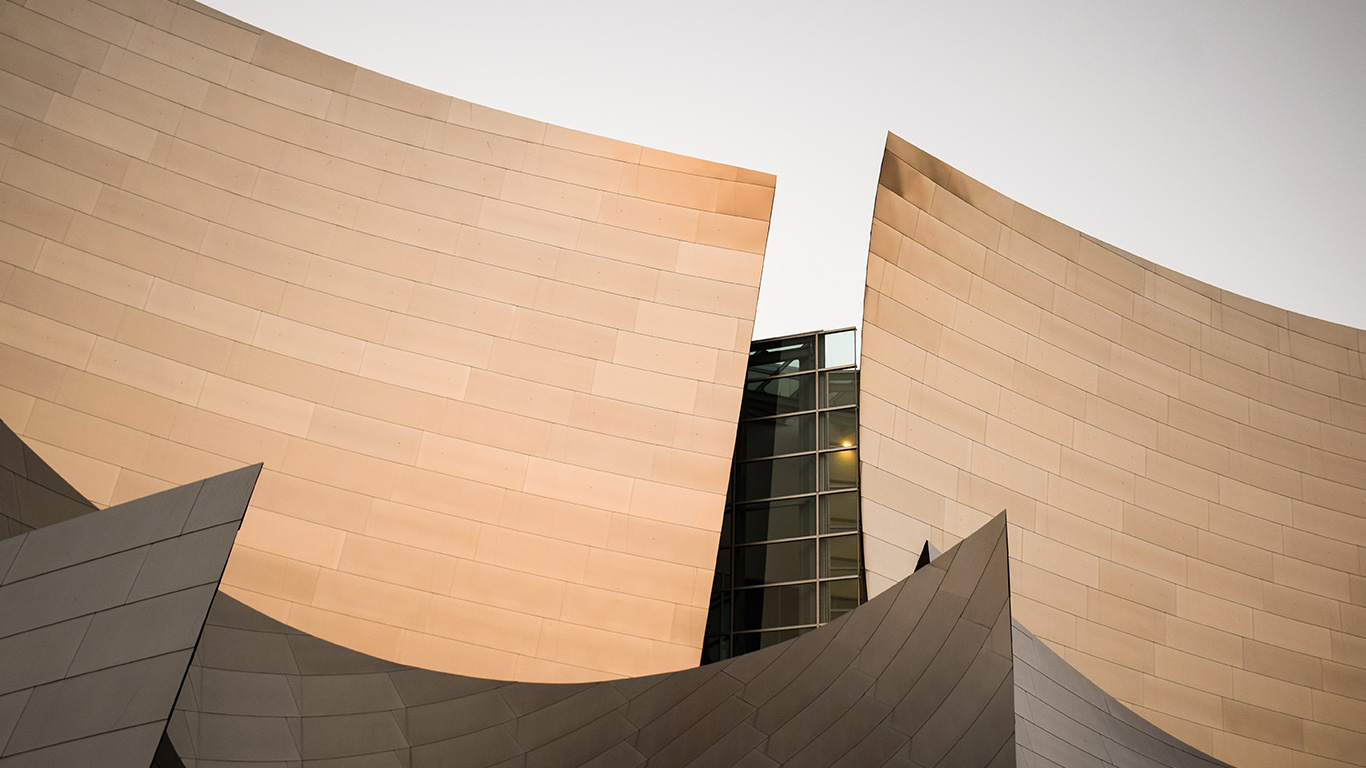 Abstract facades in fashion architecture